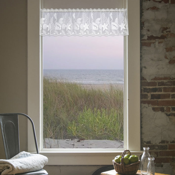seascape valance curtain