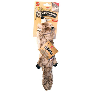 Skinneeez Extreme Quilted Raccoon Pet Toy 54217
