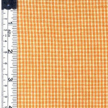 Small plaid yellow fabric