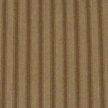 Striped brown fabric