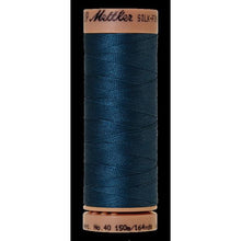Tartan blue thread