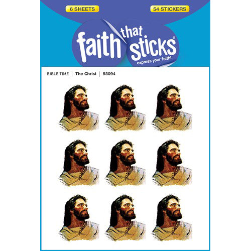 The Christ stickers