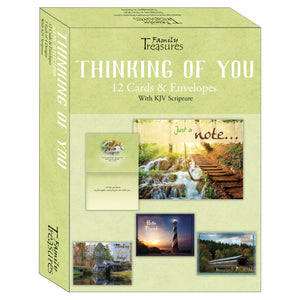 Boxed Thinking of You Card