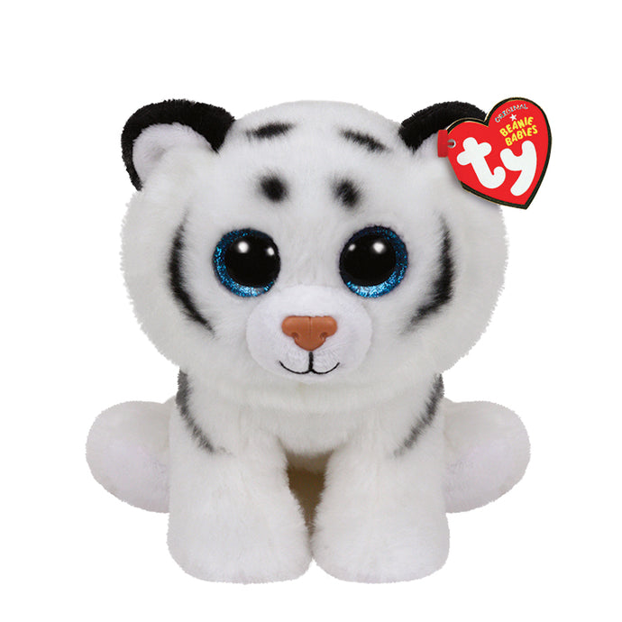 Tundra the white tiger plush toy