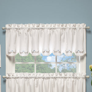 Curtain valance