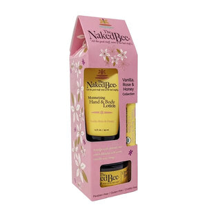 Vanilla Rose Honey gift set
