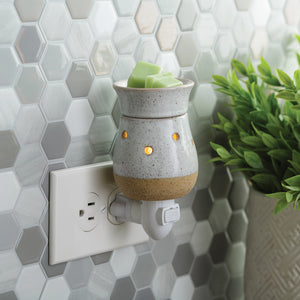 Rustic White Plug-in Wax Warmer PIRWH