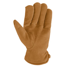 Palm of leather glove