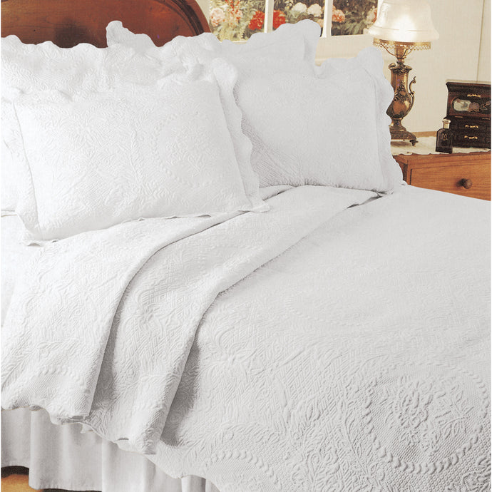 White coverlet