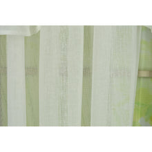 White curtain panel
