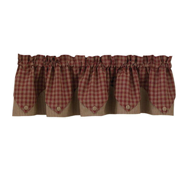 Wine Point valance