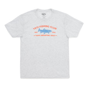 YETI fishing club short sleeve t-shirt