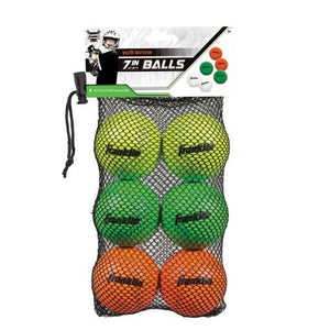 6-Pack Mini Lacrosse Balls 60017