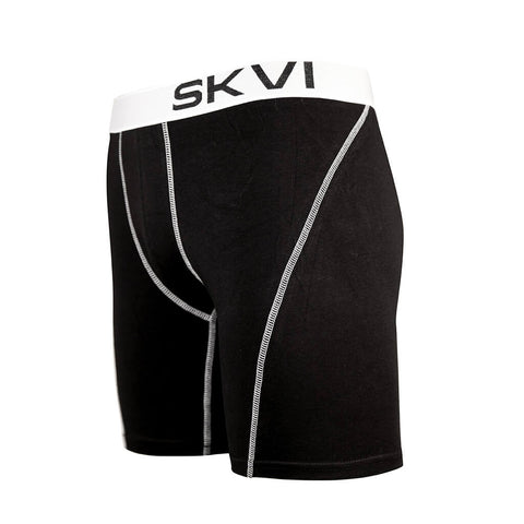 SKVI Black-White Boxer Briefs 2-pack