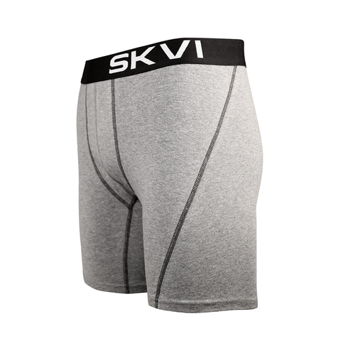 SKVI Gray-Black Boxer Briefs 2-pack