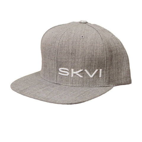 SKVI Snap Back - Heather/White