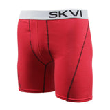 SKVI Red-Black Boxer Briefs 2-pack