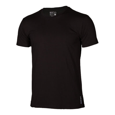 Black Crew Neck Shirts 2-Pack