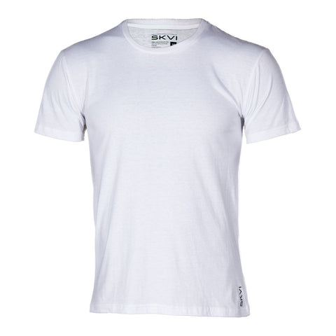 White Crew Neck Shirts 2-Pack