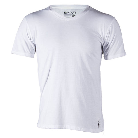 White V-Neck Shirts 2-Pack