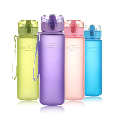 Water Bottle Outdoor Sport Leak Proof Seal Water Bottle Plastic Drinkware