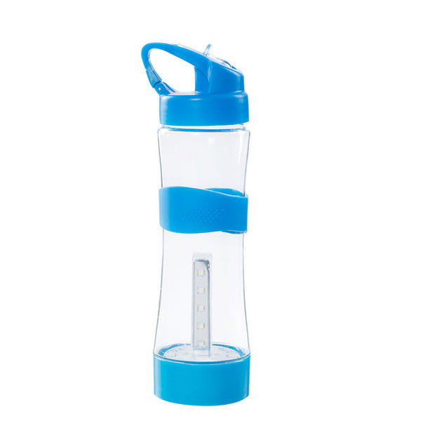 Outdoor Sport Camping Water Bottles Intelligent Portable Camping Light with USB Eco Friendly Plastic