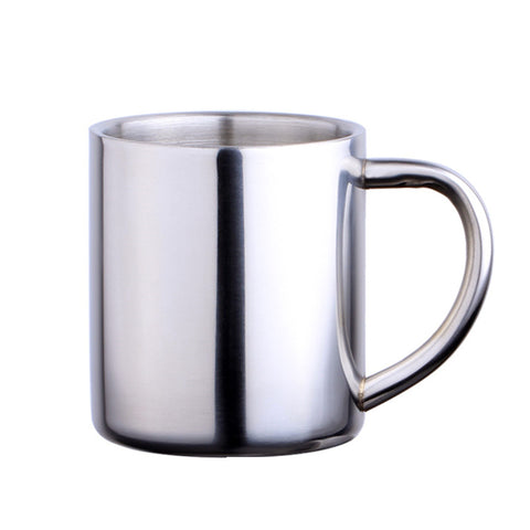 Double Wall Stainless Steel Coffee Mug Creative Non-Magnetic Water Cup Drinkware