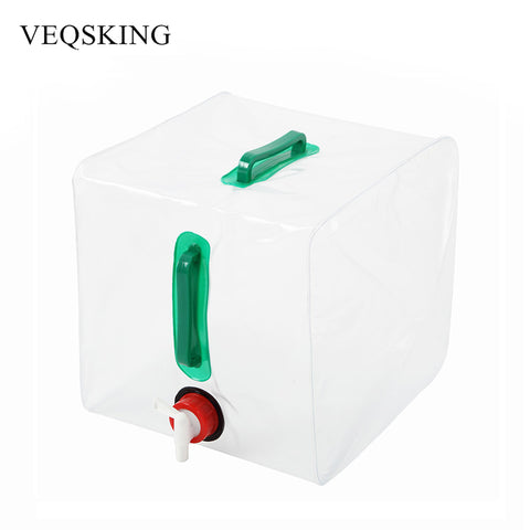 Outdoor Folding Water Bag Collapsible Water Carrier Water Container For Camping