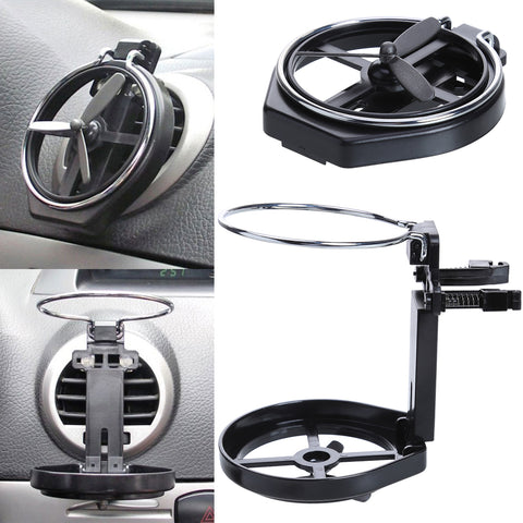 1Pc Car Drink Holder Wind Air A/C Outlet Truck Folding Cup Bracket For Water Drink Bottle Portable Holder Car styling Accessorie