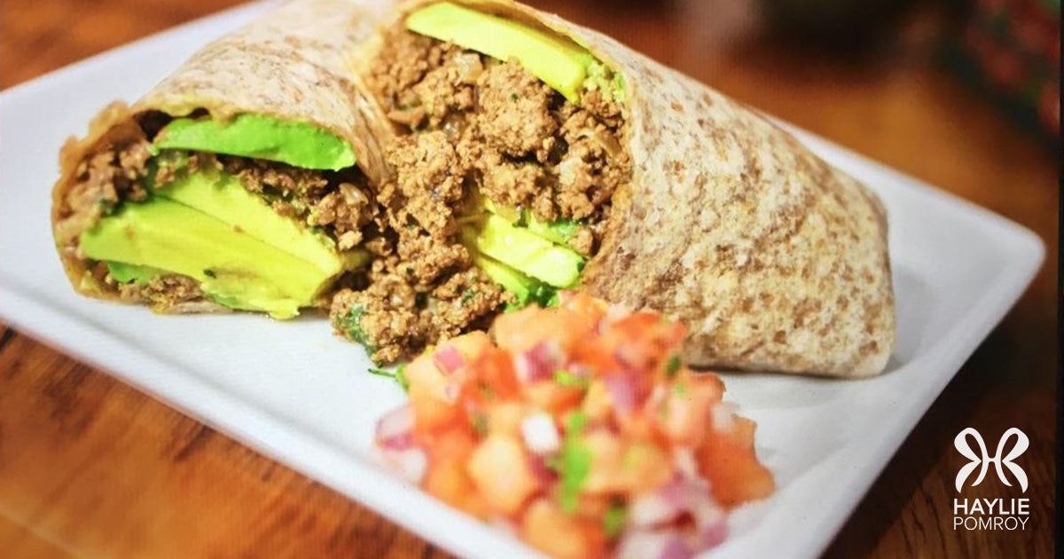 The Kitchen is my Pharmacy. Could a Breakfast Beef Wrap Cure your Cravings?