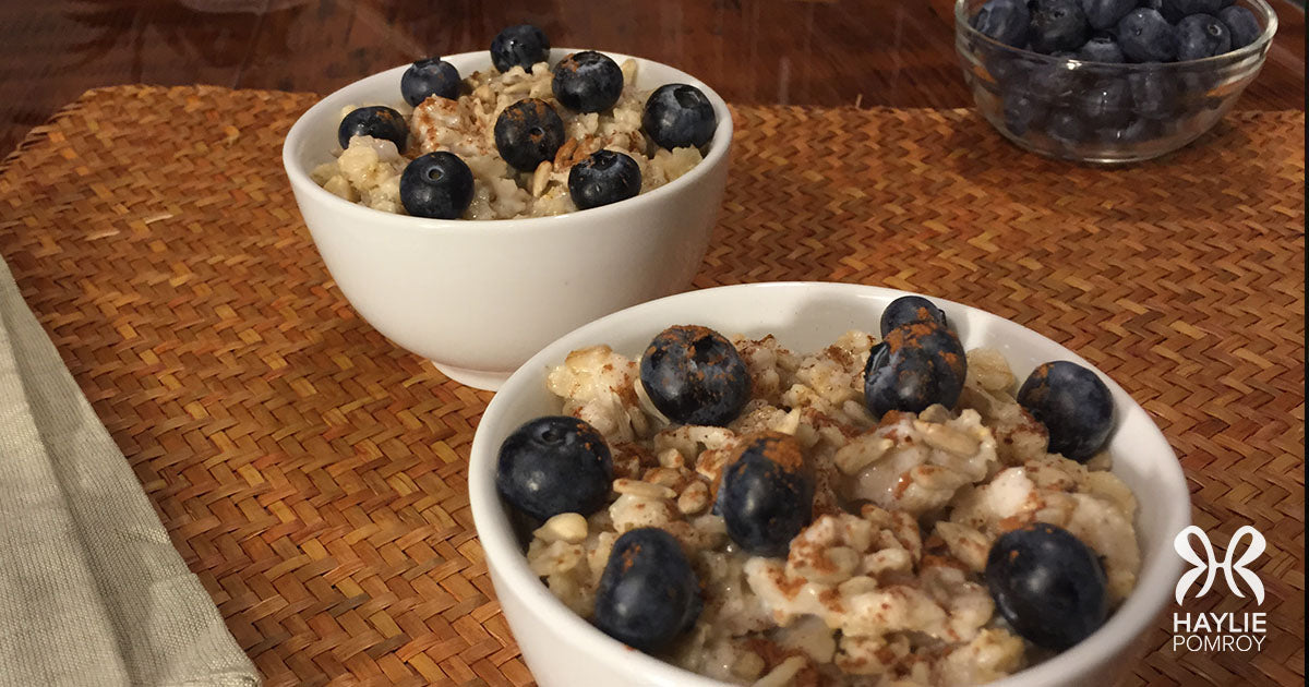 Food Prescriptions like my Coconut Oats and Eggs can Turn your Kitchen into the Healthiest Room in the House!