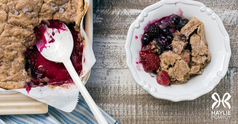 Haylie Pomroy Mixed Berry Cobbler