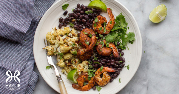 Cajun Shrimp and Black Beans