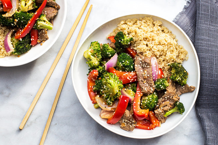 D-Burn Beef and Broccoli Bowl