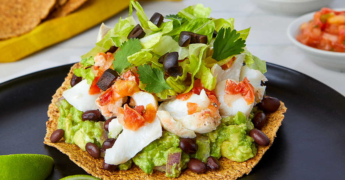 Grilled Fish Tostadas by Haylie Pomroy