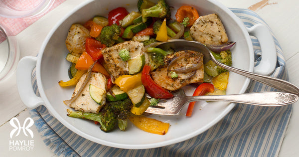Rainbow Chicken and Veggies