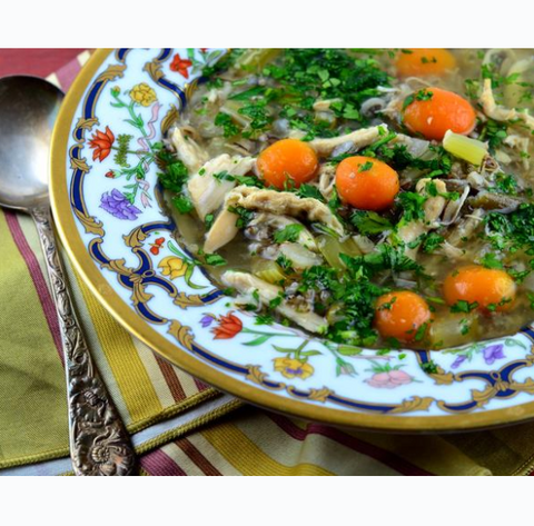 Classic Chicken and Wild Rice Soup