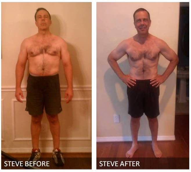 Steve's Before and After