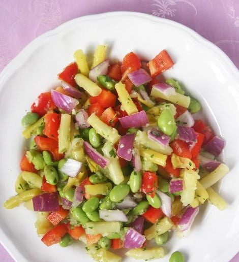 Pick-a-protein salad