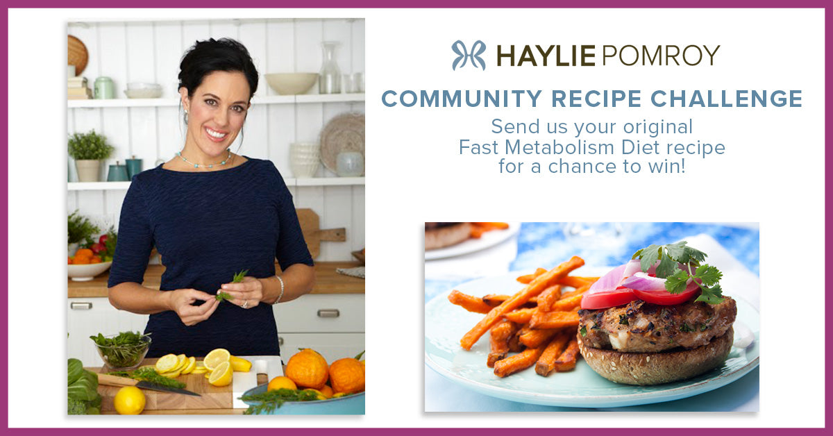 Haylie Pomroy's Recipe Challenge