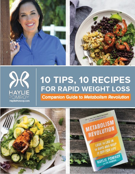 Metabolism Revolution 10 Tips & 10 Recipes to Rapid Weight Loss