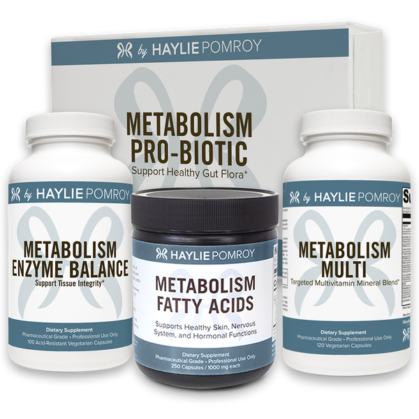 Metabolism Enzyme Balance, Metabolism Pro Biotic, Metabolism Fatty Acids, Metabolism Multi Bottles