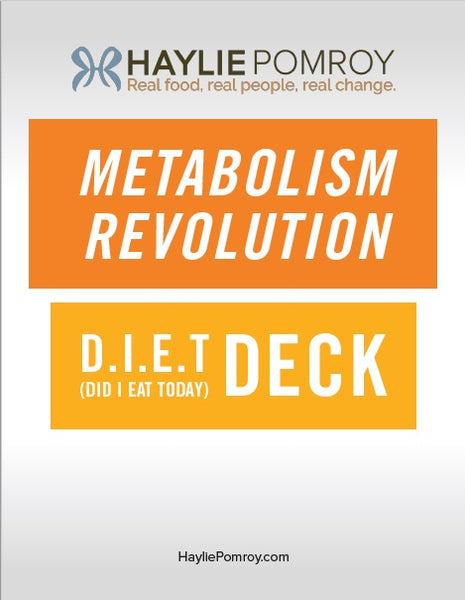 Metabolism Revolution D.I.E.T Deck