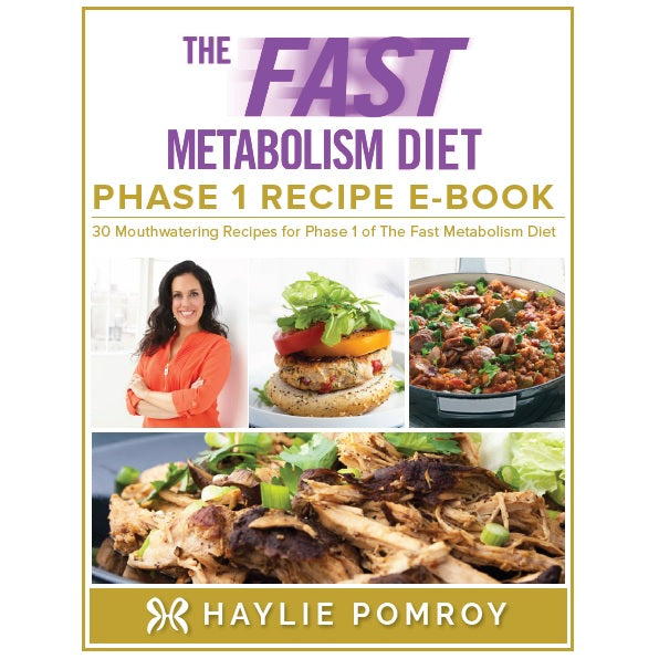 Fast Metabolism Diet Phase 1 Recipe Digital Book