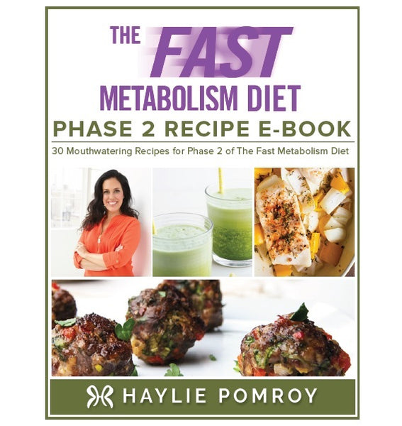 Fast Metabolism Diet Phase 2 Recipe Digital Book