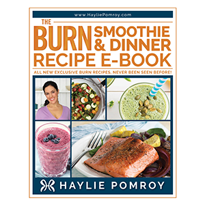 Burn Smoothie & Dinner Recipe E-Book