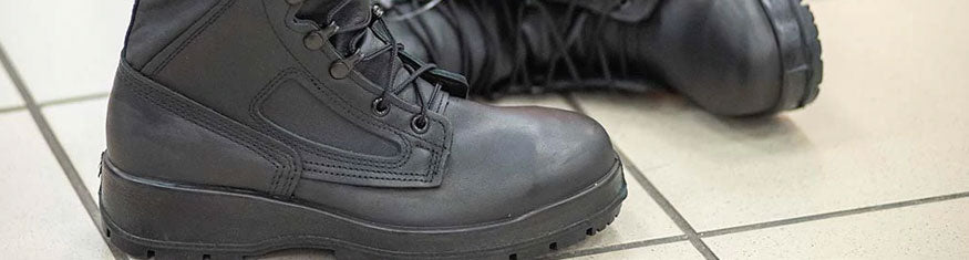 The Navy's Waterproof Construction Boots