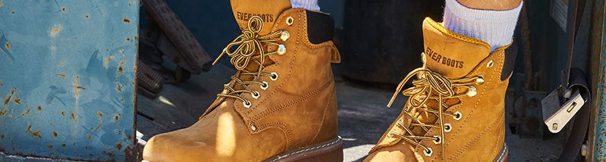8-inch Construction Boots for Men