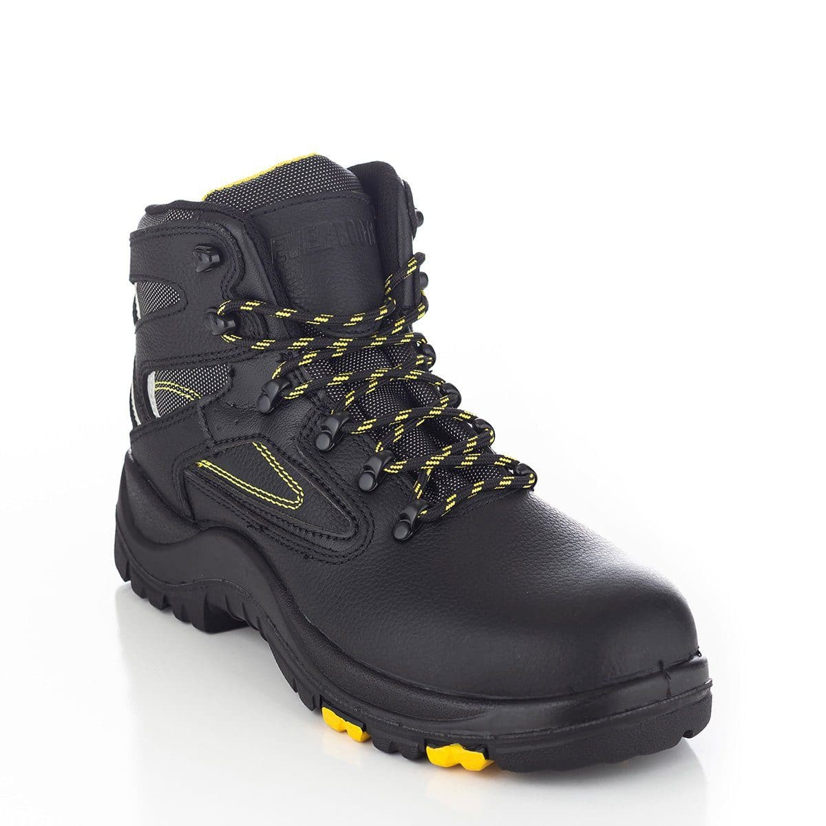 """PROTECTOR"" Steel Toe 6"" Work Boot Black"