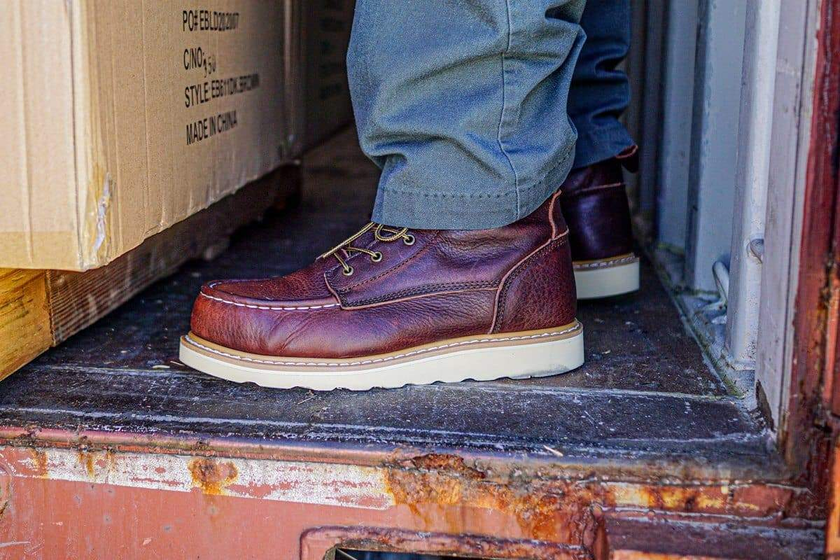 'MINER' Steel Toe Work Boots